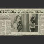 De twee gezichten van boksster Esther Schout
